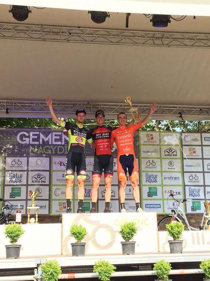 Rok Korosec gewinnt den 44. GP Gemenc in Ungarn vor Michael Kukrle und Nicolae Tanovitchii