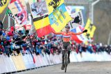 Mathieu van der Poel becomes the youngest Elite Cyclocross World Champion of all times on February 1st in Tábor