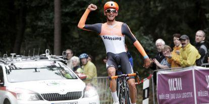 Lennard Kämna wins the U23 Mountain Championship on STEVENS Xenon