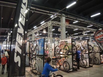 STEVENS booth at the Kielce Bike-Expo