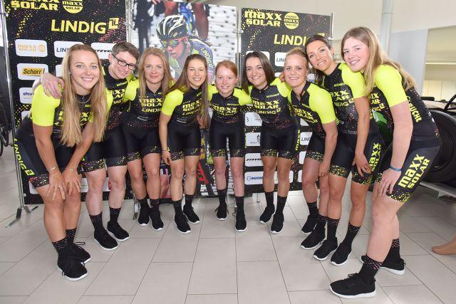 Maxx-Solar LINDIG Woman Cycling Team