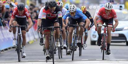 Wout van Aert in the final Sprint