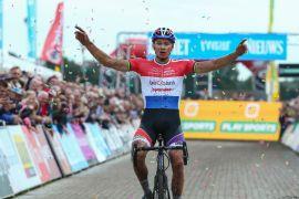 Mathieu van der Poel gewinnt in Gieten Bild Cor Vos.jpg