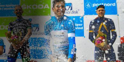 Wout van Aert gewinnt die Tour of Denmark ; Bilder: Cor Vos