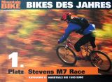 "The STEVENS M7 Race is ""Bike of the year"" 2002"