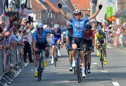 Tim Merlier wins in Ruddervoorde
