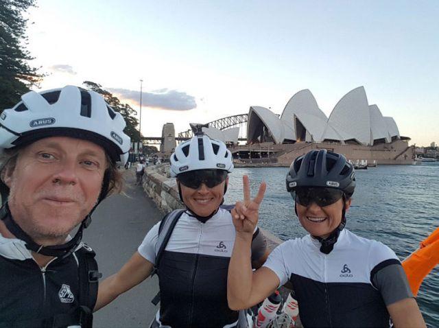 Australian Roadbook: Volker Dohrmann, Ania und Inga Wyroslak