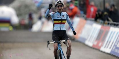 Sanne Cant, Cyclocross World Champion 2018, foto: Cor Vos