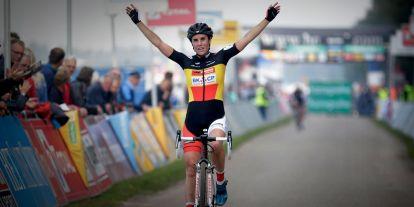 Sanne Cant wins on STEVENS Super Prestige in Gieten