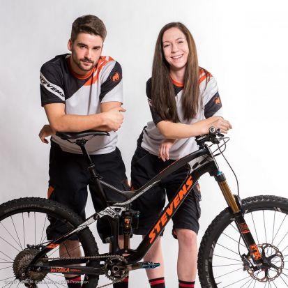 Alessandro Sepp und Veronika Brüchle, STEVENS MTB Racing Team