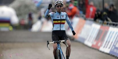 Sanne Cant, Cyclocross-Weltmeisterin 2018    Bild: Cor Vos