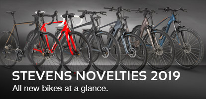 STEVENS Novelties 2019: All new bikes at a glance.