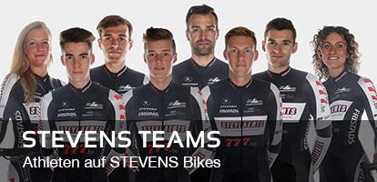 STEVENS Teams: Athleten auf STEVENS Bikes